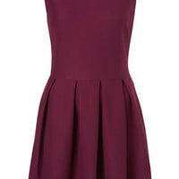 Structured Sleeveless Skater - Fit & Flare Dresses - Dresses - Topshop USA