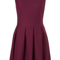 Structured Sleeveless Skater - Fit &amp; Flare Dresses - Dresses - Topshop USA
