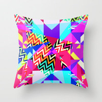 Mix #235 Throw Pillow by Ornaart | Society6