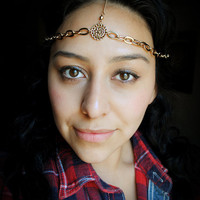 Gypsy Head Crown The Medallion by theblackfeather on Etsy