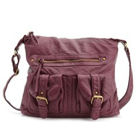 Double Pocket Cross-Body Bag: Charlotte Russe