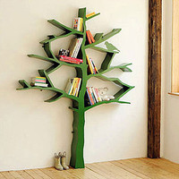 Knowledge Tree Bookcase in Green