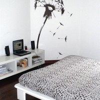 Wall Decals  Flowering Dandelion- WALLTAT.com Art Without Boundaries