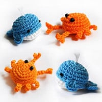 Buy Crab and Whale pattern - AmigurumiPatterns.net