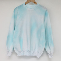 ANDCLOTHING — Cloud Sky Tie Dye Sweater