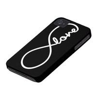 infinity love iPhone 4 cover from Zazzle.com