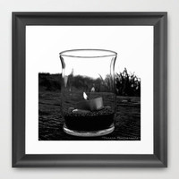 Seaside flame Framed Art Print by Vorona Photography | Society6