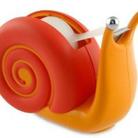 Amazon.com: Boston Warehouse Trading Pokey Snail Tape Dispenser: Home & Kitchen