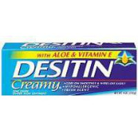 Desitin 4 oz. Creamy Ointment
