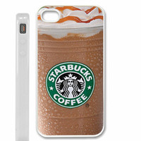 starbucks ice coffee hot design iPhone 4 / 4s white case cover
