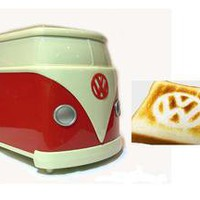 Volkswagen VW Minibus Original Toaster Japan, New with Box, Rare!
