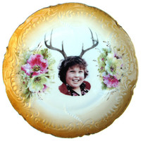 Deer Ol&#x27; Chunk Portrait  - Altered Antique Plate