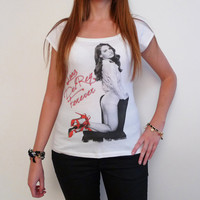 Lana Del Rey 2: pretty t-shirt, celebrity picture
