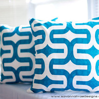 Dorm Room Pillows Modern Throw Pillow Covers by SavannahRaeDesigns