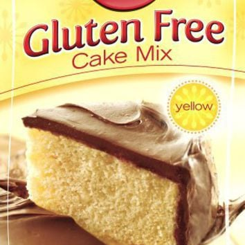 Betty Crocker Gluten Free Yellow Cake Mix, 15-Ounce Boxes (Pack of 6)