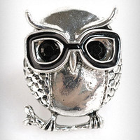 Nerdy Owl Ring | PLASTICLAND