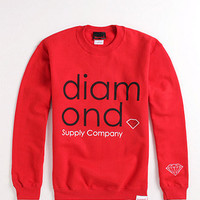 Diamond Supply Co Mid Century Crew Fleece at PacSun.com