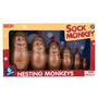 Amazon.com: Schylling Sock Monkey Nesting Monkeys: Toys &amp; Games