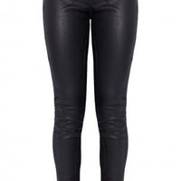 Boutique 1 - ELIZABETH AND JAMES - Black Leather Legging | Boutique1.com