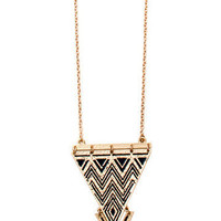 GYPSY WARRIOR - Tribal Triangle Necklace