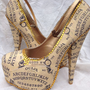 Ouija Board Heels by Miss Fiendish