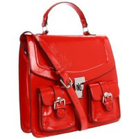 Melie Bianco Dora Satchel - designer shoes, handbags, jewelry, watches, and fashion accessories | endless.com
