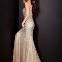 Beaded Mermaid Gown, Style 4426