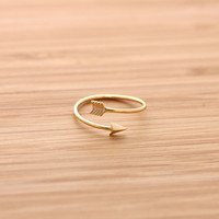 cupid&#x27;s ARROW ring, 3 colors | girlsluv.it