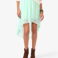 High-Low Chiffon Skirt | FOREVER 21 - 2000035465