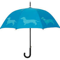 One Kings Lane - Take Cover - Cane Umbrella, Dachshund