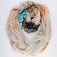 Figure 8 Pastel Chevron Stripe Infinity Scarf 208095706 | Scarves | Tillys.com