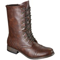 Women&#x27;s Mossimo Supply Co. Kody Combat Boot - Cognac