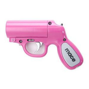 Mace Pepper Spray Gun - Pink with Pepper Spray Cartridge and a Water Practice Cartridge: Amazon.com: Industrial & Scientific