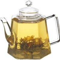 Amazon.com: GROSCHE VIENNA Stove top water Kettle and Infuser glass Teapot 1250ml 42 fl. oz: Kitchen & Dining
