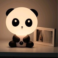 Cute Cartoon Baby Kungfu Panda Night Light Lamp Dog Rabbit Bear