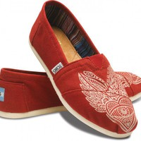 TOMS Reds - J Marro Red Women's Classics | TOMS.com