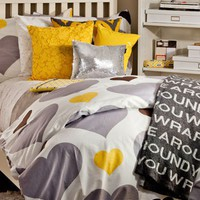 Love Me or Leave Me Duvet/Sham Set - Duvet Covers + Quilts - Bedding