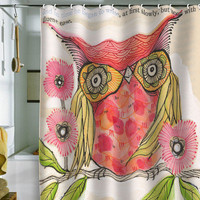 Cori Dantini Miss Goldie Shower Curtain