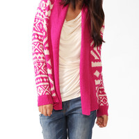 Essential Geo Shawl Cardigan