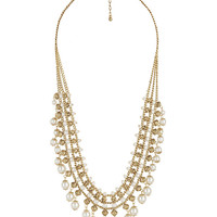 Pearlescent Collar Necklace | FOREVER21 - 1008585981