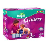 Pampers Cruisers Size 3 Economy Pack (148 Cruisers)