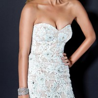 Jovani Sexy Lace Dress 4607 - In Stock - $480