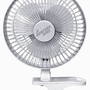 Comfort Zone CZ6C 6-Inch 2-Speed Clip-On Fan