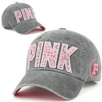 Ball Cap PIJ GRAY Baseball PINK Fashion Hat Casual Jean Trucker Fashion Unisex