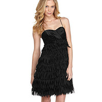 JS Collections Bead-Waist Faux-Feather Dress | Compare price and get advice at Select2Gether