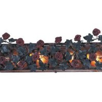 One Kings Lane - Crystorama - Floral Sconce II