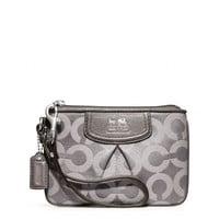 Coach :: Madison Op Art Sateen Small Wristlet