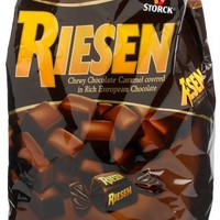 Riesen Chewy Chocolate Caramels, 30-Ounce Bags (Pack of 3)