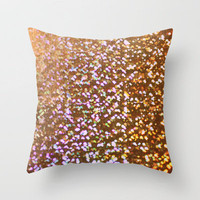 sparkling rain Throw Pillow by Marianna Tankelevich | Society6