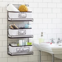 3-Tier Wire Bath Shelf